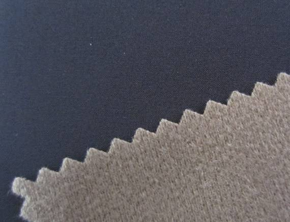 50D plain 4 way strectch fabric+tpu+Super-high velvet