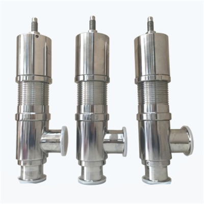 Stainless Steel Sanitary Tri-clamped Safety Valve