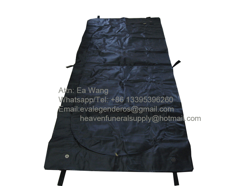 Heavy Duty PVC Body Bag with 6 Handles
