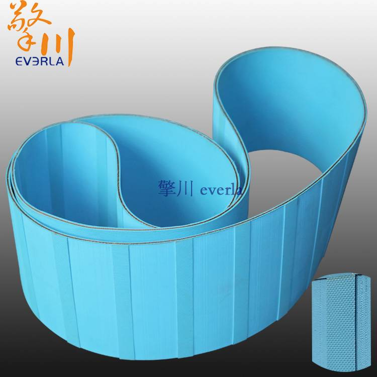 Manufacturers custom slitting double-sided sky blue chip baseband paper machine belt nylon film base