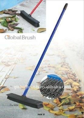 HQ0019 Large household wide PP plastic floor brush/street broom/industrial brush/garden brush