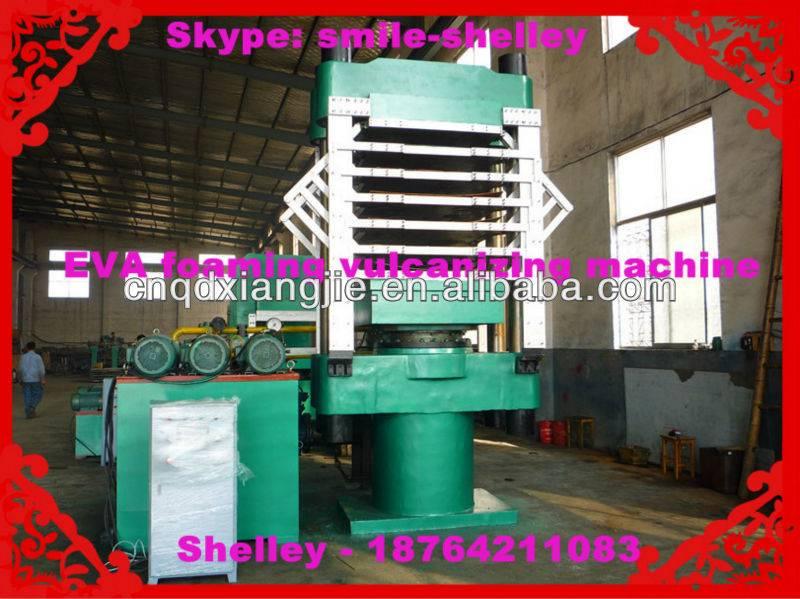 eva foam sheet  press machine