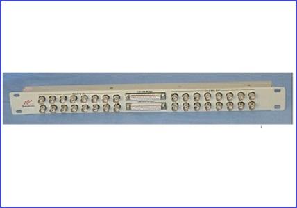 BNC to M37 I/O Board Panel