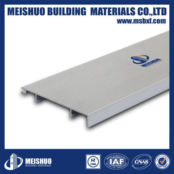 Wall corner protection aluminum skirting