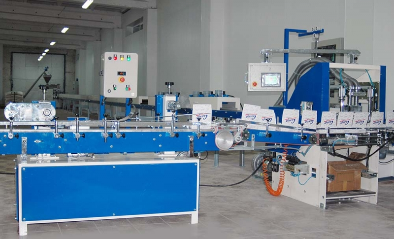 FULL AUTOMATIC SUGAR CUBE MACHINE - 50 TONS / DAY