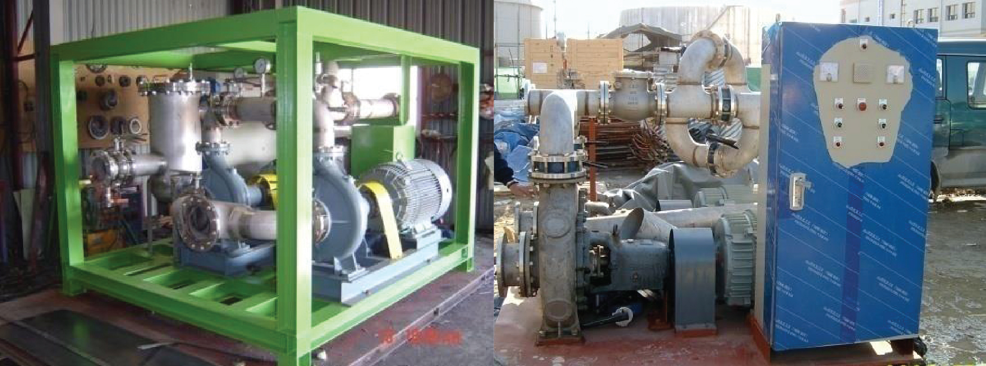 Acid Cleaning_Chemical Circulation pump unit
