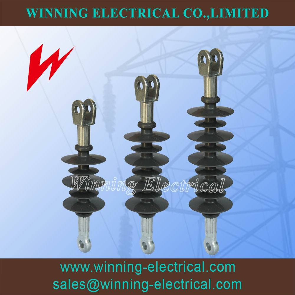Distribution 15-35kv Suspension Silicone Rubber Insulator