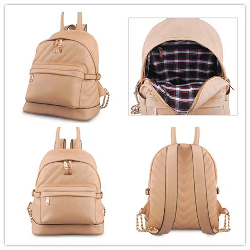 Guangzhou Supplier Designer Fashionable PU Leather Womens Backpack Bag (LY05023)