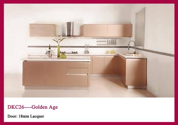 European Style High Gloss Lacquer Kitchen cabinet