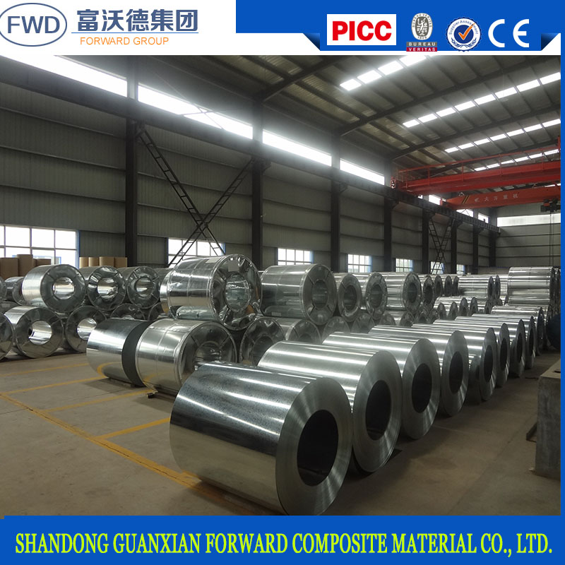 Galvanized steel coil for roof sheet/galvanized iron steel sheet in coil