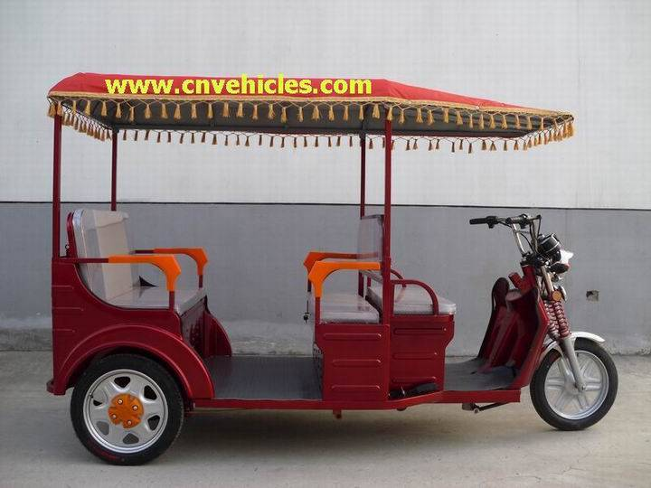 Electric Tricycle/Electric Rickshaw/Three Wheelers for Passengers (YUDI-ET3388)