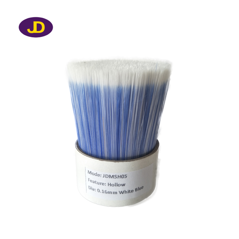 0.16mm blue+white hollow filaments