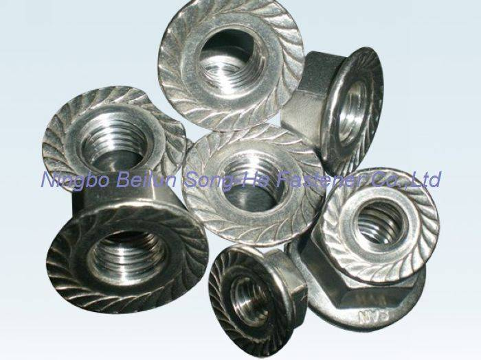 Hexagon flange nuts,DIN6923,ISO4161