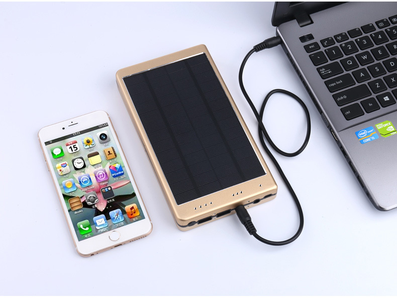 Newest 2018 Manufacturer real 30000mah laptop solar charger