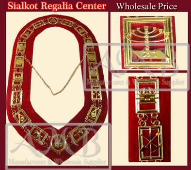 Royal Arch Chain collar
