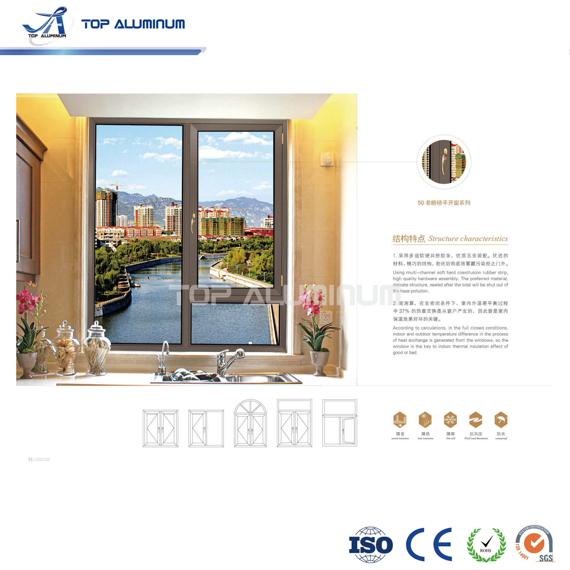 Aluminium Fixed Windows