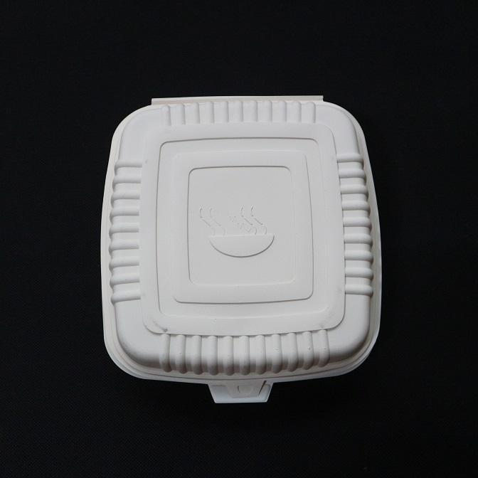 Popular Disposable Lunch Box/Biodegradable Cornstarch Tableware