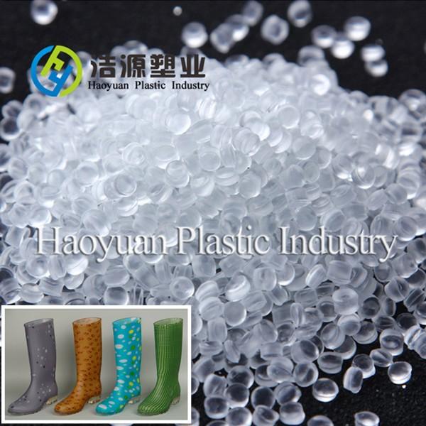 Transparent Soft Compound for PVC Rainboots