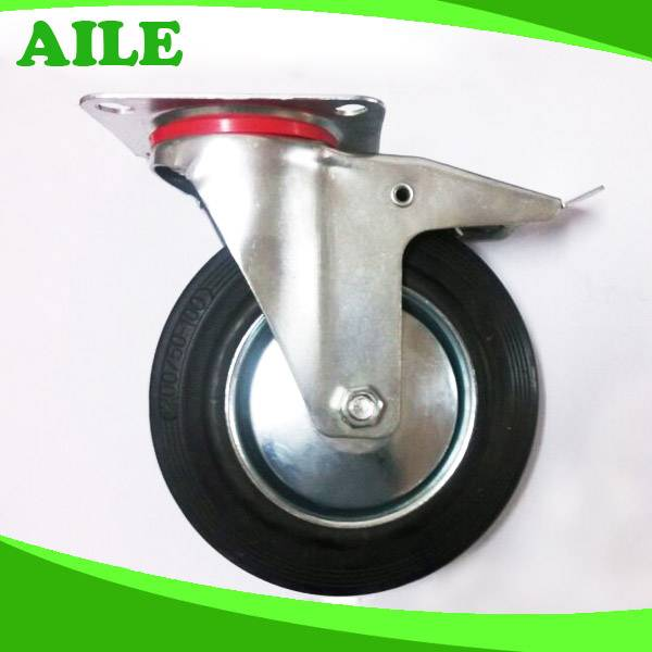 We Produce 200mm Caster And Wheel