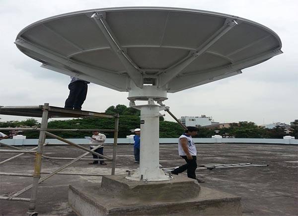 3 meter satellite dish