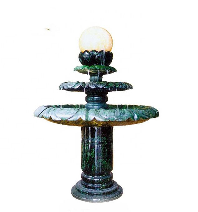 Wholesale Stone Spinning Floating Ball Marble Fountain