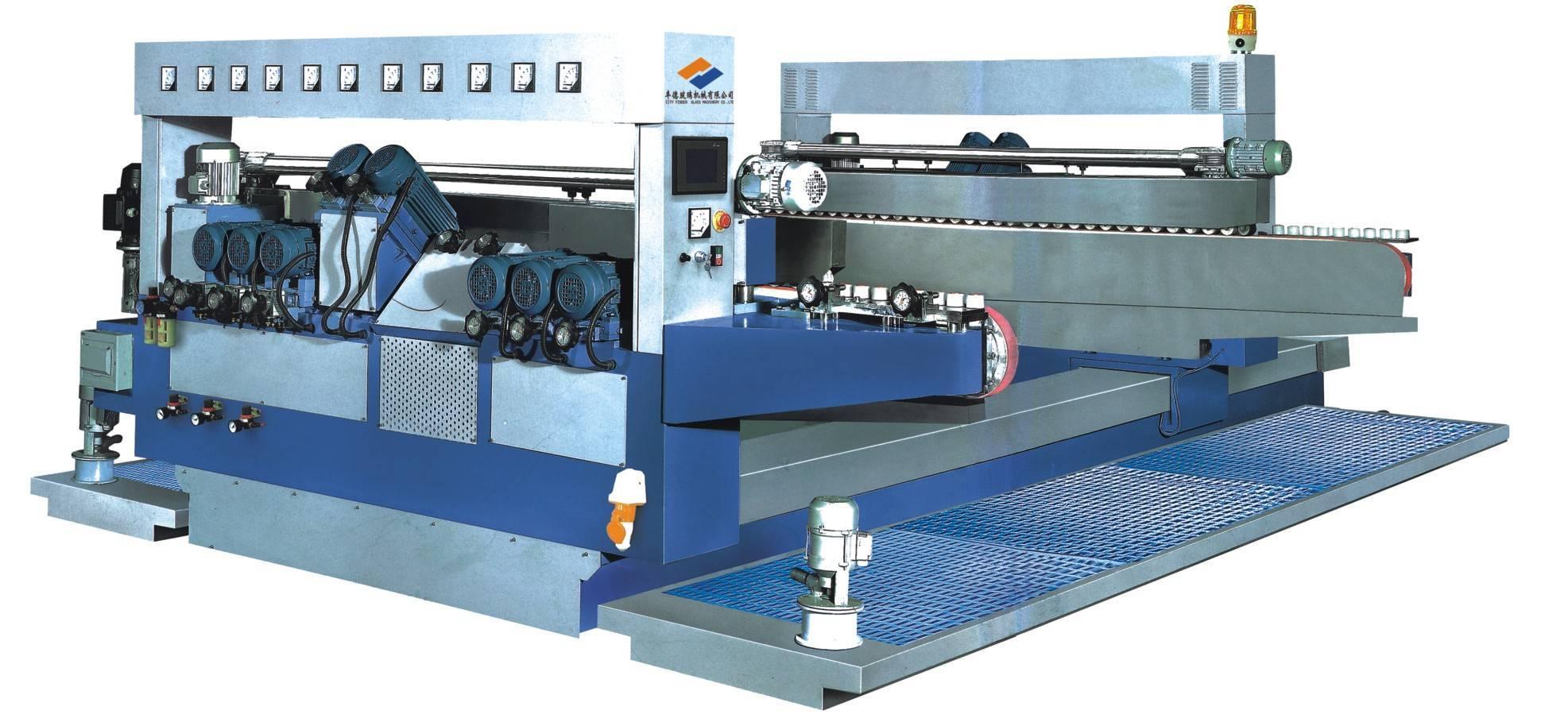 22 motor glass double edging machine