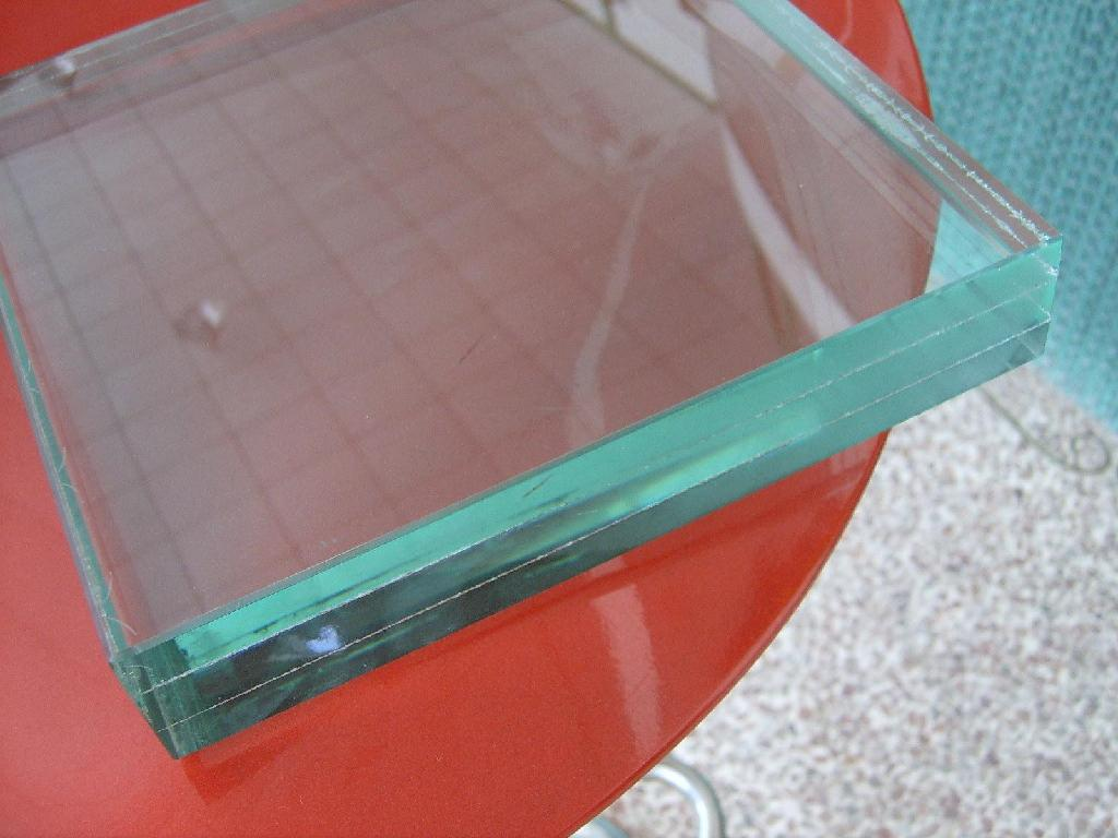 Low Iron Laminated Sgp Glass for Building Balustrade Ceiling Curtain