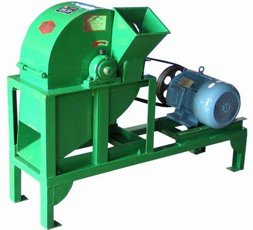 The new wood grinder