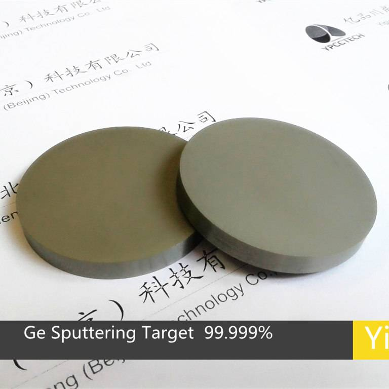 Germanium Ge sputtering target  4N China target manufacture  evaporation coating materials