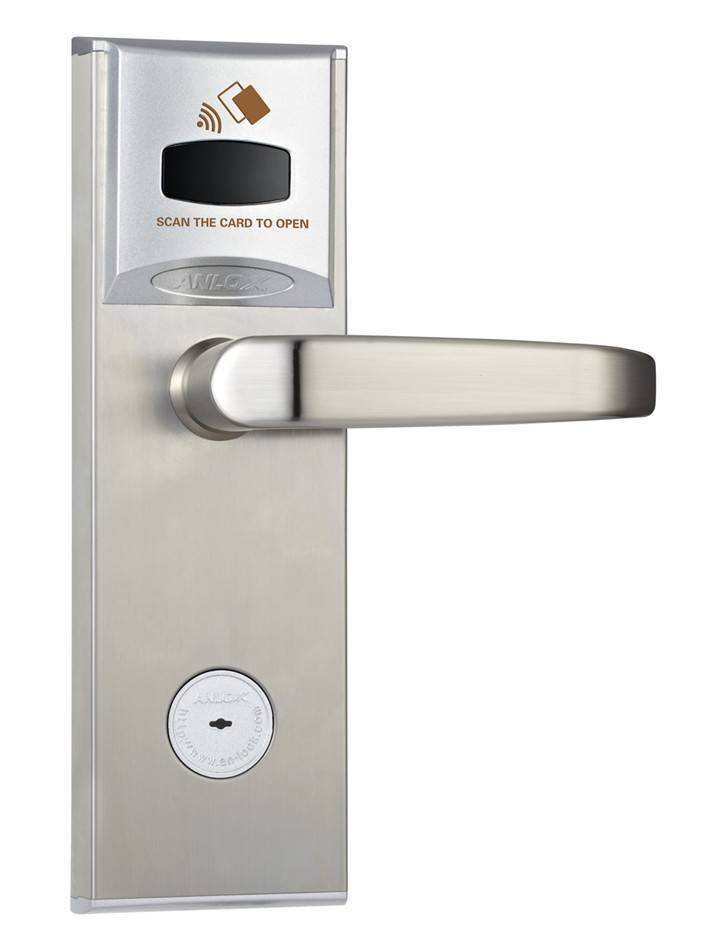 Electronic Door lock for Hotel, thick handle with anti-violence function
