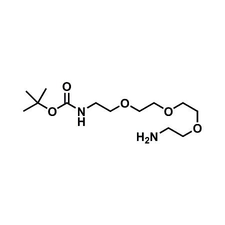 t-boc-N-amido-PEG3-amine;BocNH-PEG3-CH2CH2NH2;CAS#101187-40-0