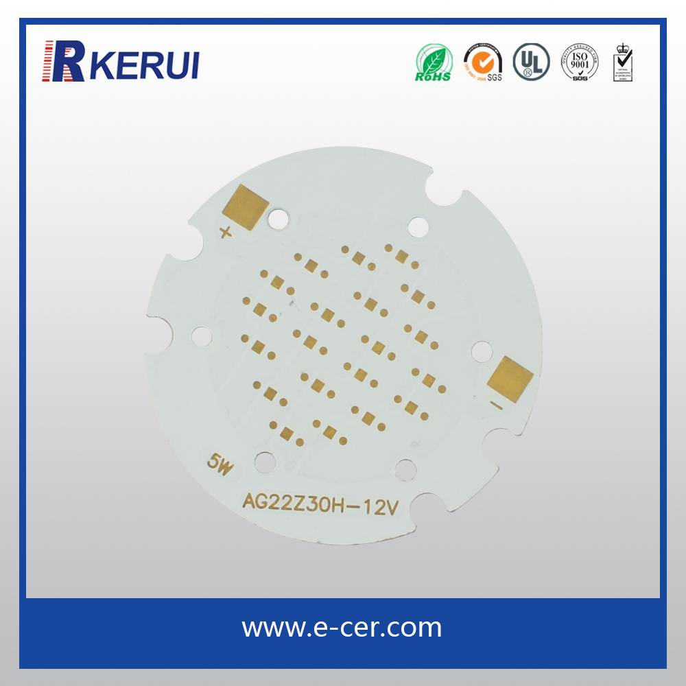 1W 3W 10W High Power LED with PCB