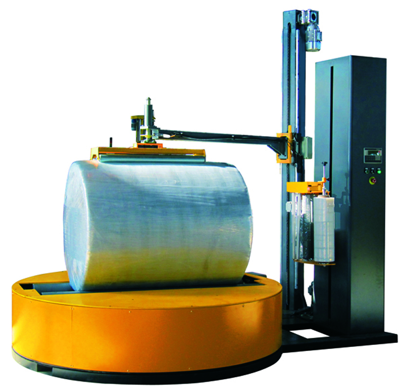 Automatic Reel /Rolling Paper Stretch Film Wrapping Machine