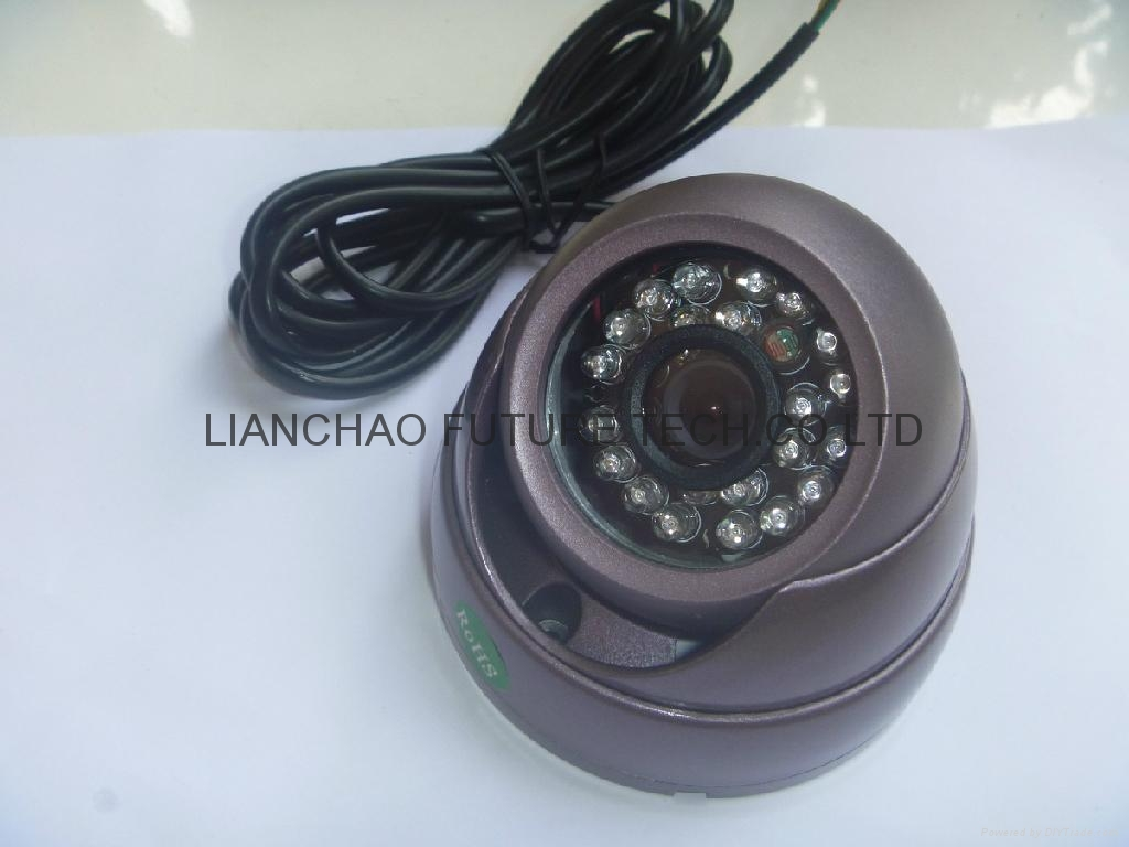 JPEG IR Dome Camera with Metal Case