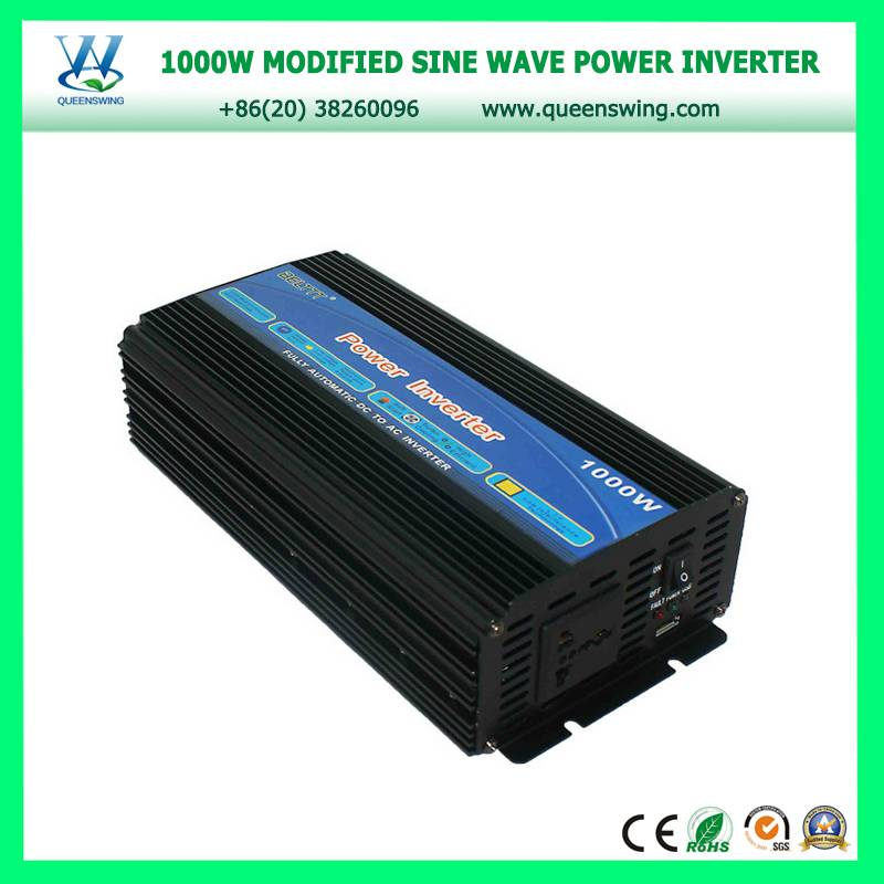 1000w 12v/24v to 220v dc to ac power inverter