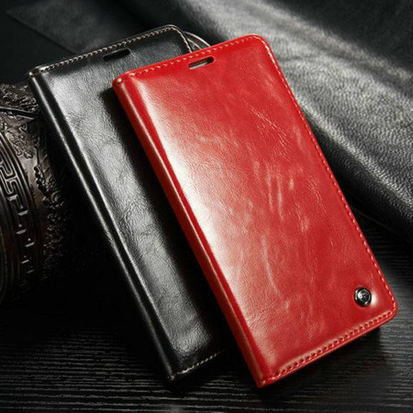 Hot selling for samsung galaxy s5 with good quality leather case Luxury Soft leather case for samsun