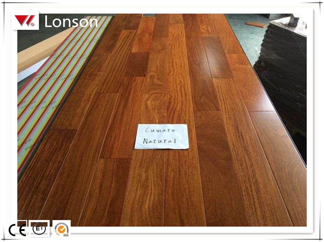 Prefinished Cumaru Solid Hardwood Flooring