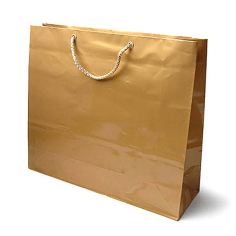 2015 new design paper bag,gift bag ,shopping bag , with handle ,in machine price