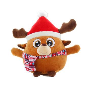 Top Selling OEM Christmas Stuffed Plush Deer Toys