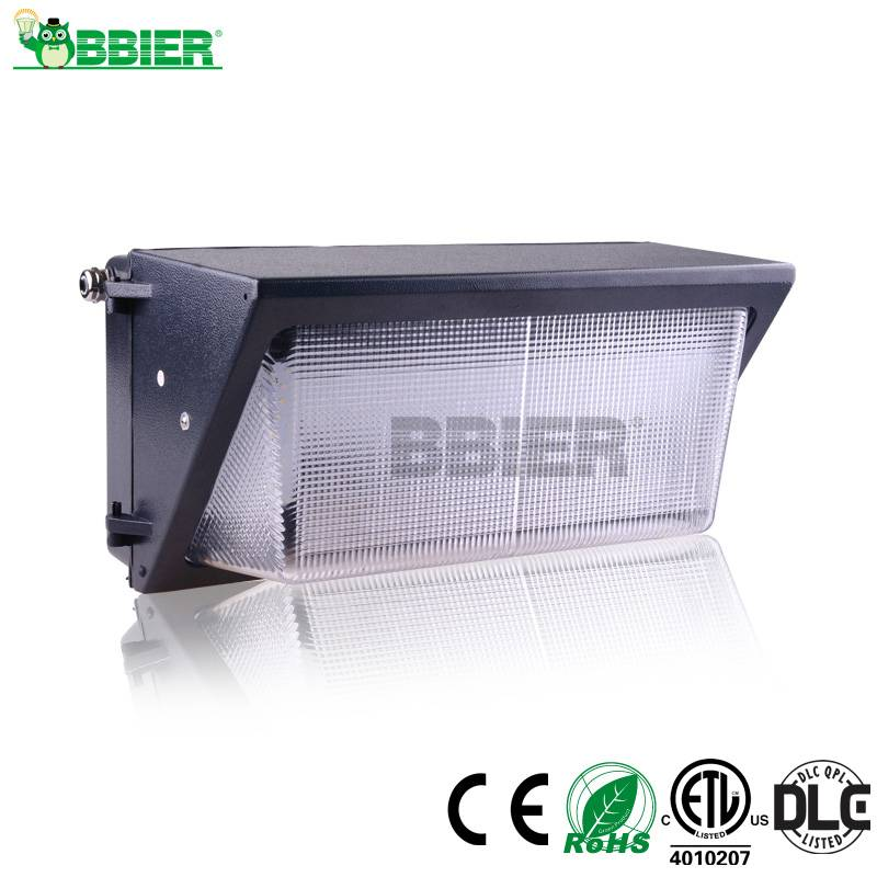 30w 60w 80w 100w ETL DLC led wall pack light