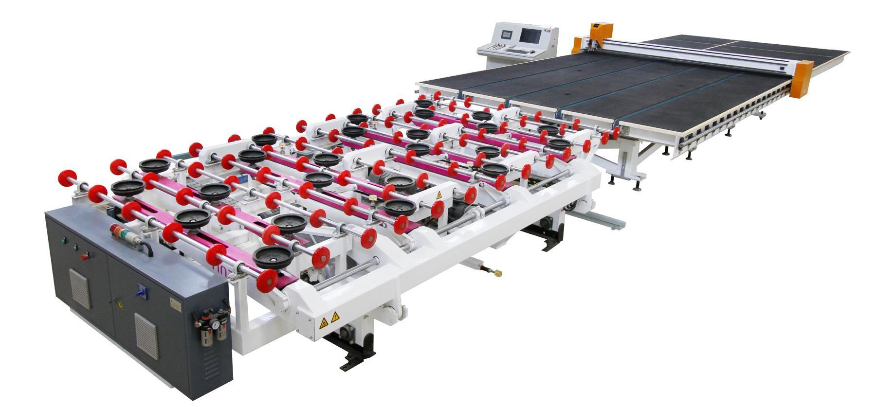 CNC Automatic Shaped Glass Cutting Machine