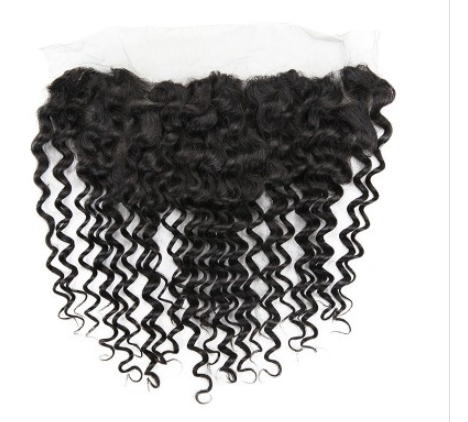 Brazilian Deep Wave Virgin Hair Lace Frontal