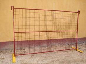 6ft powder coated temporary construction site fence panels