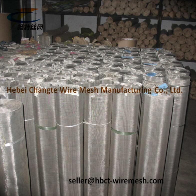 Durable Stainless Steel Wire Mesh Panels Stainless Steel Fine Mesh Screen