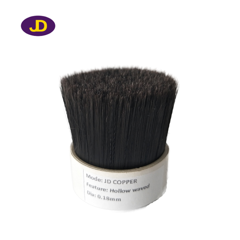 JD copper 0.18mm hollow waved brush filaments