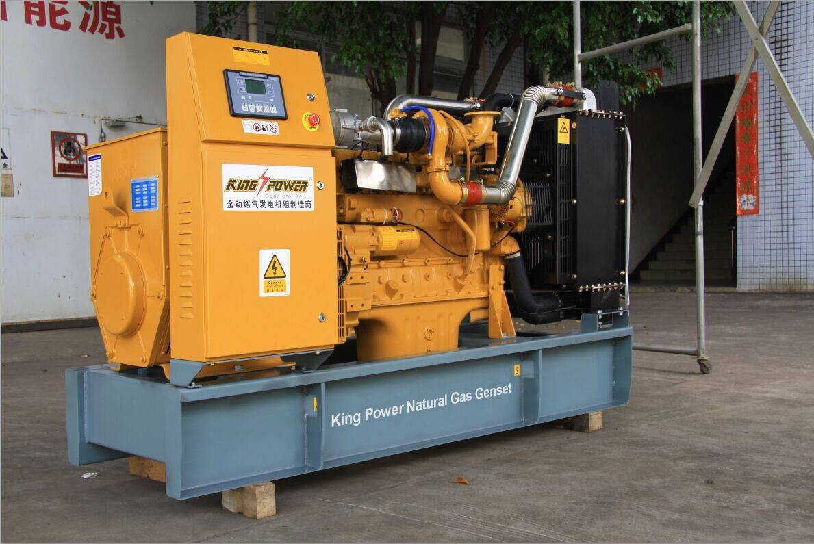300kw Natural Gas Genset with Cchp System