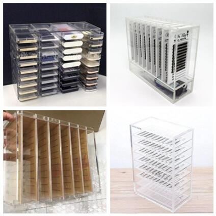 Storage Box Organizer for Eyelash Extensions