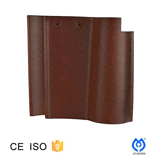 305*305*12mm ceramic spanish roof tile for China Factory direct Sale