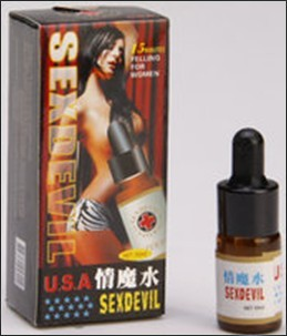 Aaphrodisiac water herb medicine Sex Devil with 10ml
