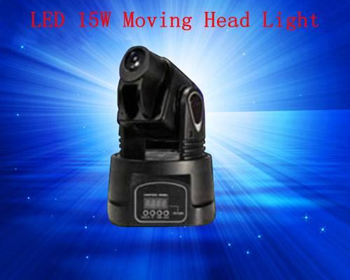 LED 15W Mini Moving Head Light